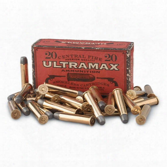 20 Rounds .45-70 Cowboy Action 405 Grain Long Range Rifle Ammo