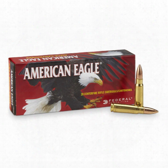 American Eagle, 7.62x39mm, Fmj, 124 Grain, 20 Rounds