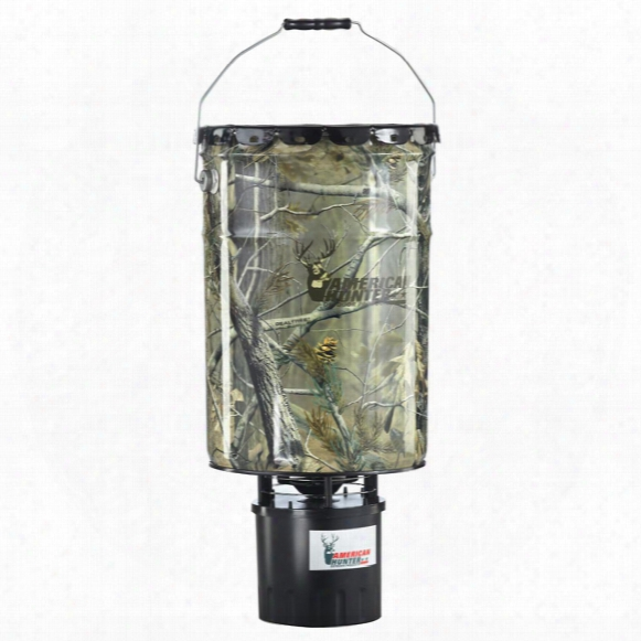 American Hunter 50 Lb Realtree Ap Camo Hanging Feeder