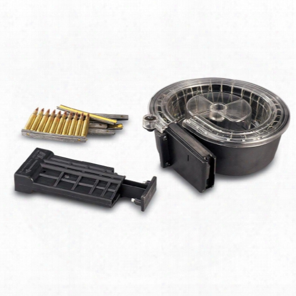 Ar-15 / M16 Snail Drum Magazine, .223 Caliber, 90 Rounds