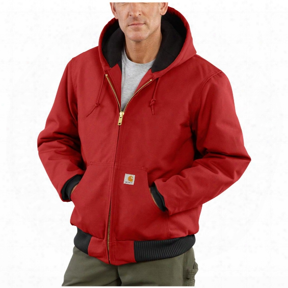 Carhartt® Quilted Flannel Lined Duck Active Jacket