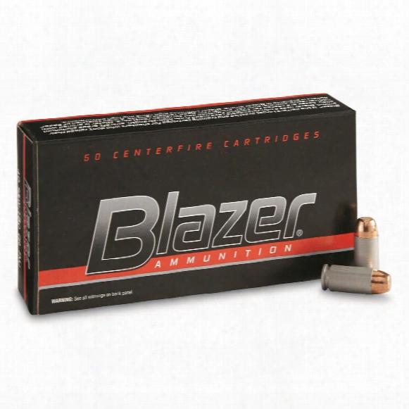 Cci Blazer, .40 S&w, Fmj-fp, 180 Grain, 50 Rounds