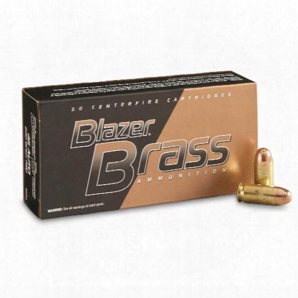 Cci Blazer Brass,.45 Auto, 230 Grain, Fmj-rn, 50 Rounds