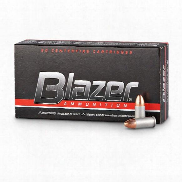 Cci Blazer Centerfire .40 S&w, Fmj, 165 Grain, 50 Rounds