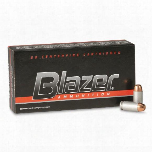 Cci Blazer Centerfire, .40 S&w, Tmj, 155 Grain, 50 Rounds
