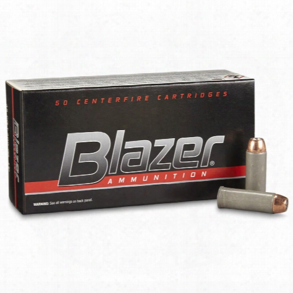 Cci Blazer, Centerfire, .45 Long Colt, Jhp, 200 Dye, 50 Rounds