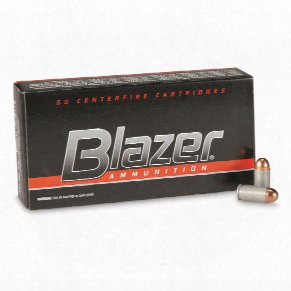 Cci Blazer Centerfire, 9x18mm Makarov, Tmj, 95 Grain, 50 Rounds