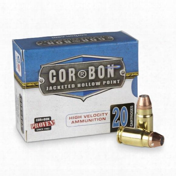 Cor-bon High Velocity, .400 Cor-bon, Jhp, 165 Grain, 20 Rounds