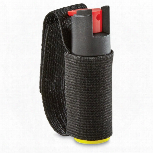 Eliminator 0.5 Oz. Pepper Spray Jogger Unit With Adjustable Elastic Strap