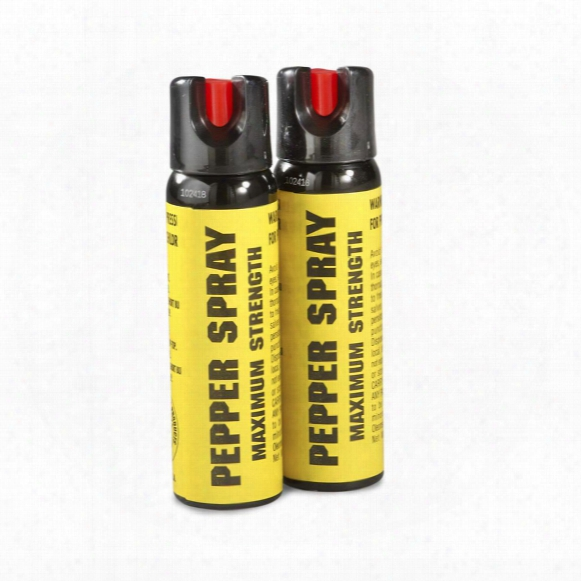 Eliminator Pepper Spray With Twist Lock, 4 Oz., 2 Pack