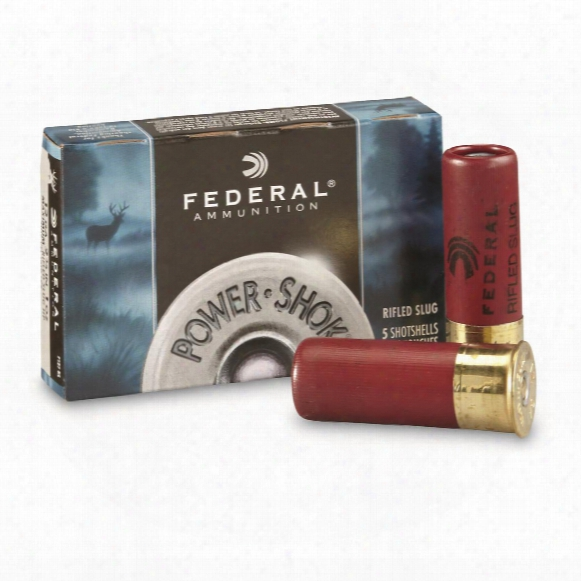 "Federal, 2 3/4"" 12 Gauge, 1 Oz., 5 Rounds"