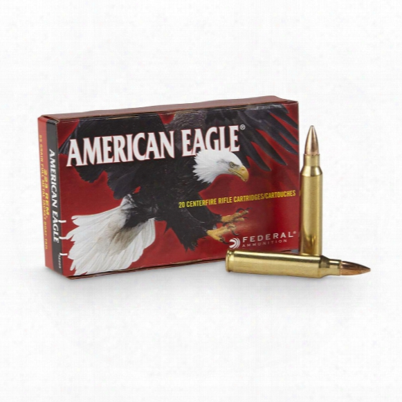 Federal, American Eagle, .223 Rem., Fmjbt, 55 Grain, 20 Rounds