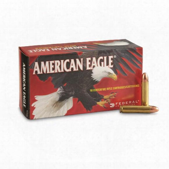 Federal American Eagle, .30 Carbine, Fmj, 110 Grain, 50 Rounds