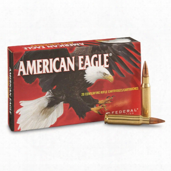 Federal American Eagle, .308 Win., Fmjbt, 150 Grain, 20 Rounds