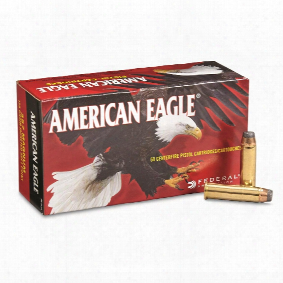Federal, American Eagle, .357 Magnum, Jsp, 158 Grain, 50 Rounds