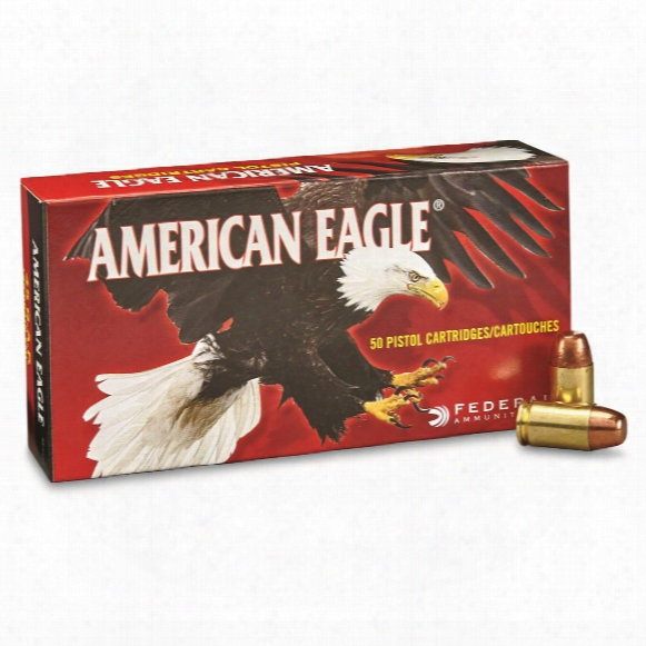 Federal American Eagle Pistol, .45 Gap, Fmj, 185 Grain, 50 Rounds