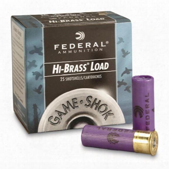 "Federal Classic, Hi-brass, 16 Gauge, 2 3/4"" 1 1/8 Oz. Shotshells, 25 Rounds"