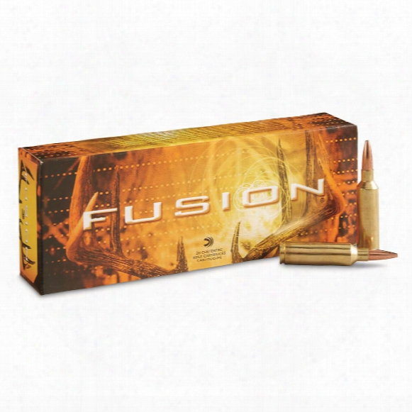 Federal Fusion, .270 Winchester Short Magnum, Sptz Bt, 150 Grain, 20 Rounds