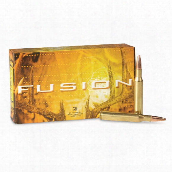Federal Fusion, .270 Winchester, Sptz Bt, 130 Grain, 20 Rounds