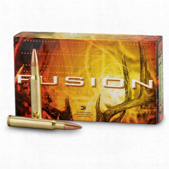 Federal Fusion .30-06 Springfield, Sptz Bt, 150 Grain, 20 Rounds