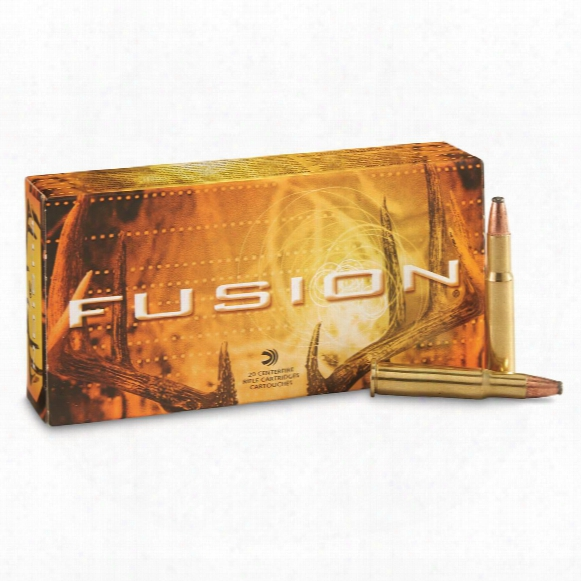 Federal Fusion, .30-30 Winchester, Fn, 170 Grain, 20 Rounds
