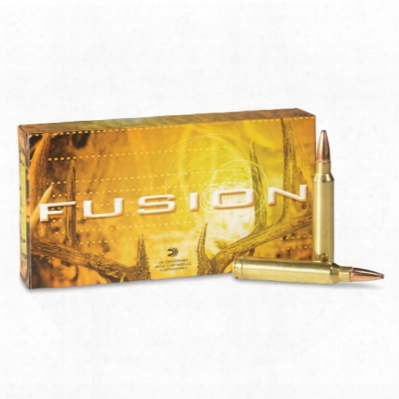 Federal Fusion, .300 Winchester Magnum, Bt, 180 Grain, 20 Rounds