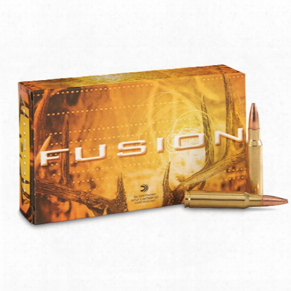 Federal Fusion, .308 Winchester, Sptz Bt, 150 Grain, 20 Rounds
