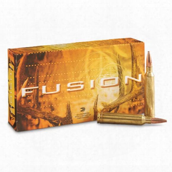 Federal Fusion, 7mm Remington Magnum, Sptz Bt, 175 Grain, 20 Rounds