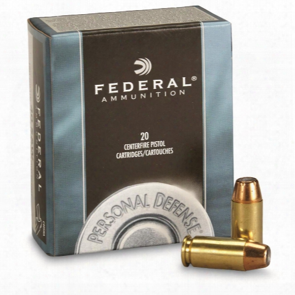 Federal Personal Defense, .40 S&w, Jhp, 180 Grain, 20 Rounds