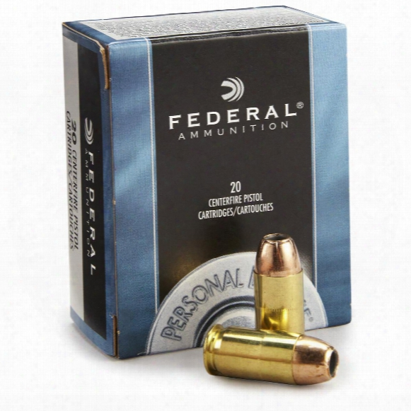 Federal Personal Defense, .45 Acp, Jhp, 230 Grain, 20 Rounds