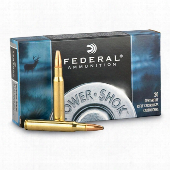 Federal Power-shok .280 Remington, Sp, 150 Grain, 20 Rounds