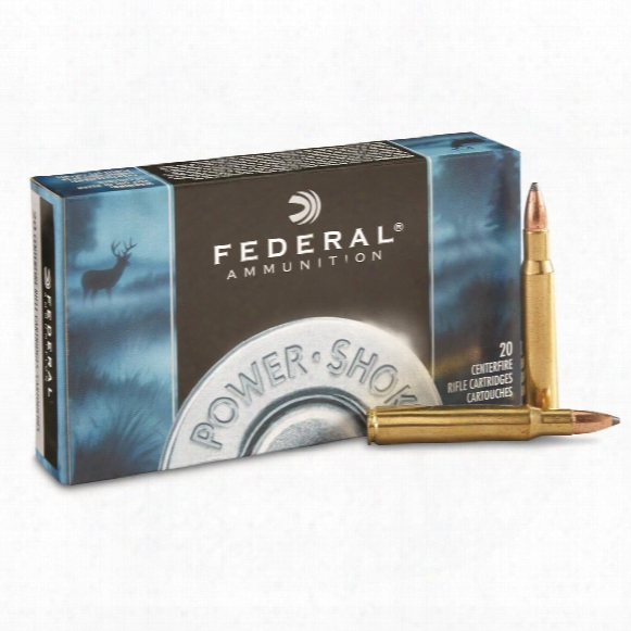 Federal Power-shok, .30-06 Springfield, Shcsp, 125 Grain, 20 Rounds