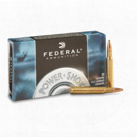 Federal Power-shok, .30-06 Springfield, Sp, 150 Grain, 20 Rounds