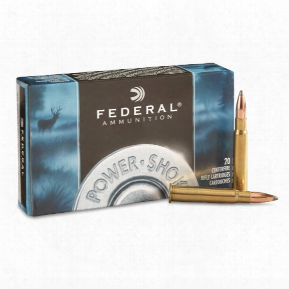 Federal Power-shok, .303 British, Sp, 150 Grain, 20 Rounds