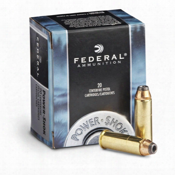 Federal Power-shok, .357 Magnum, Jhp, 180 Grain, 20 Rounds