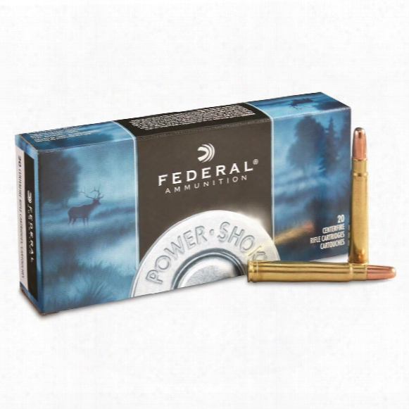 Federal Power-shok, .375 H&h Mag., Shcsp, 270 Grain, 20 Rounds