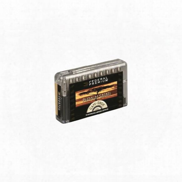 Federal Premium Capeshok, .375 H&h Mag., Tbbc, 300 Grain, 20 Rounds