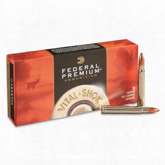 Federal Premium, Capeshok, .375 H&h Magnum, Np, 300 Grain, 20 Rounds