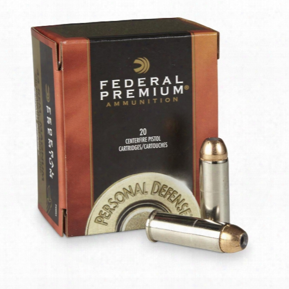 Federal Premium Hydra-shok, .44 Remington Magnum, Hsjhp, 240 Grain, 20 Rounds