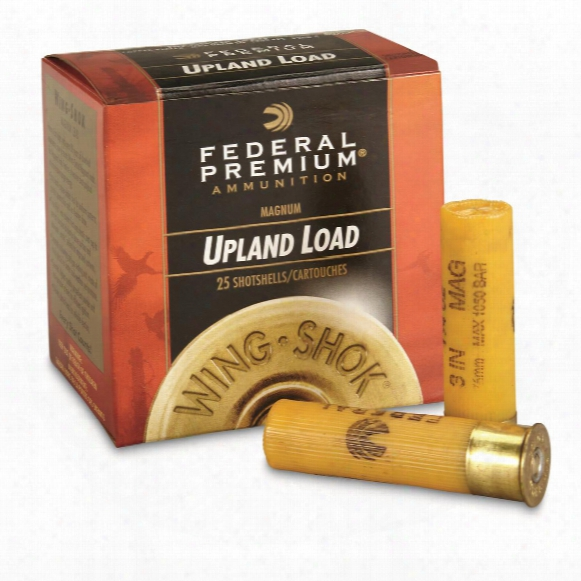 "Federal Premium Mag, 20 Gauge, 3"" 1 1/4 Oz. Shotshells, 25 Rounds"