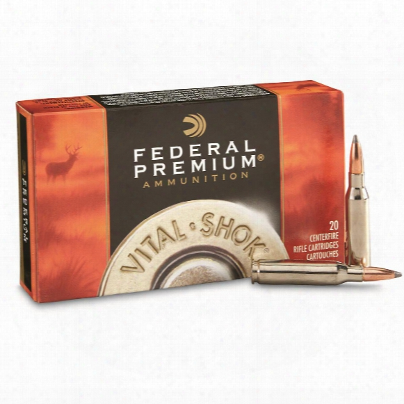 Federal Premium Nosler Partition, 7mm - 08 Remington, Np, 140 Grain, 20 Rounds