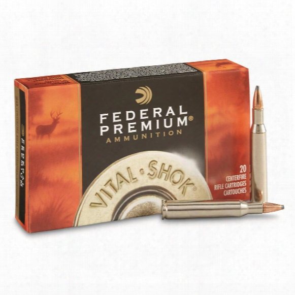 Federal Premium Vital-shok, .270 Win., Btsp, 150 Grain, 20 Rounds