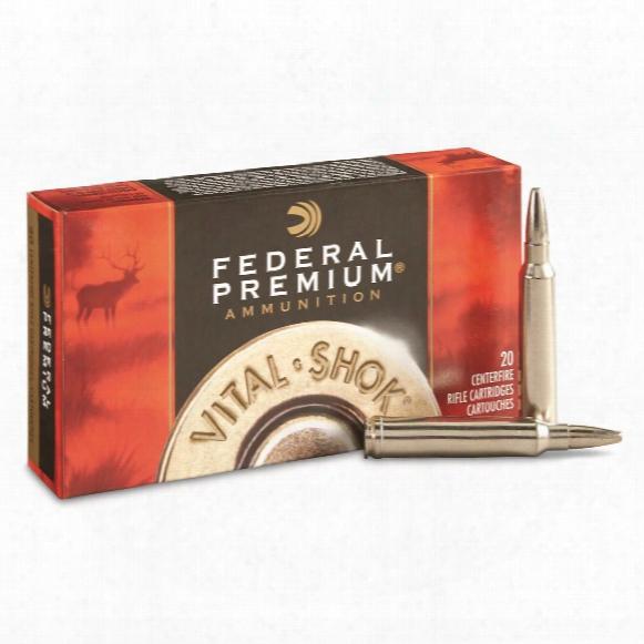 Federal Premium Vital Shok, .300 Win. Mag, Tbbc, 200 Grain, 20 Rounds