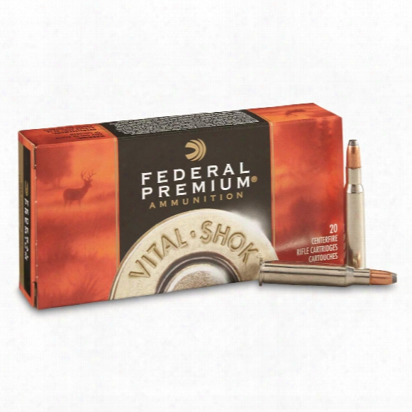 Federal Premium Vital-shok, 7-30 Waters, Btsp, 120 Grain, 20 Rounds