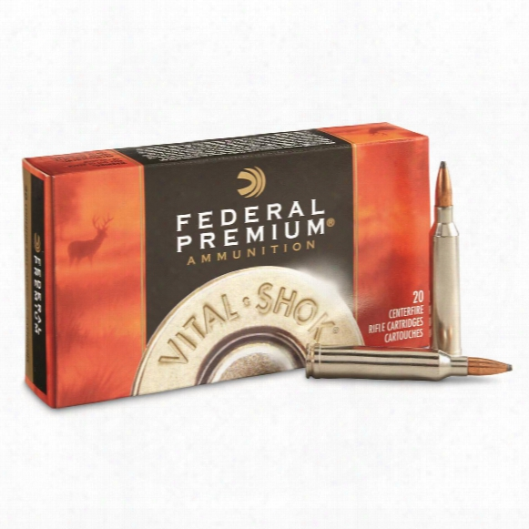 Federal Premium Vital-shok, 7mm Rem. Mag, Btsp, 150 Grain, 20 Rounds