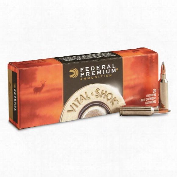Federal, Premium Vital-shok Nosler Partition, .270 Winchester Short Magnum, Np, 150 Grain, 20 Rounds