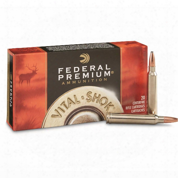 Federal Vital-shok, .300 Winchester Magnum, Np, 180 Grain, 20 Rounds