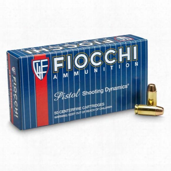 Fiocchi, .40 Smith & Wesson, Fmj-tc, 170 Grain, 1,000 Rounds