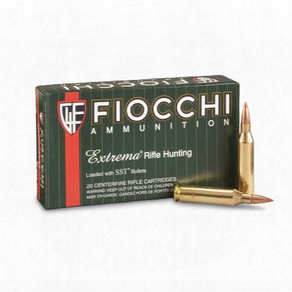 Fiocchi Extrema, .243 Winchester, Sst, 95 Grain, 20 Rounds