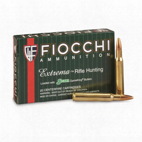 Fiocchi Extrema, .30-06 Springfield, Hpbt, 165 Grain, 20 Rounds
